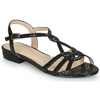 Schoenen Dames Sandalen / Open schoenen André JONETTE Zwart