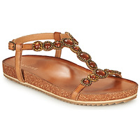 Schoenen Dames Sandalen / Open schoenen André ETHEL  camel