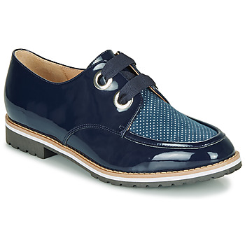 Schoenen Dames Derby André MADDO Blauw