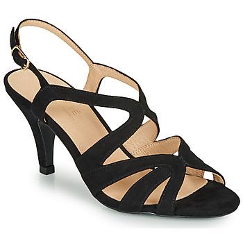 Schoenen Dames Sandalen / Open schoenen André JU Zwart
