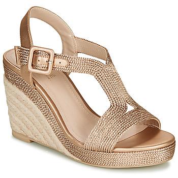 Schoenen Dames Sandalen / Open schoenen André PHOEBE Goud