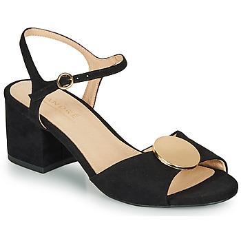 Schoenen Dames Sandalen / Open schoenen André JEANETTE Zwart