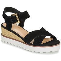 Schoenen Dames Sandalen / Open schoenen André EMILIA Zwart