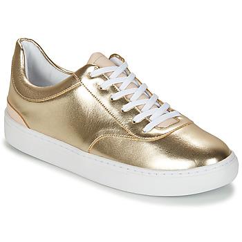 Schoenen Dames Lage sneakers André VIORNE Goud