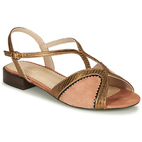 Schoenen Dames Sandalen / Open schoenen André LA TRAPEZISTE Roze