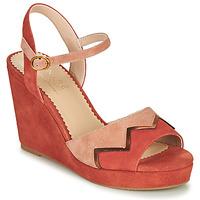 Schoenen Dames Sandalen / Open schoenen André LA JONGLEUSE Roze