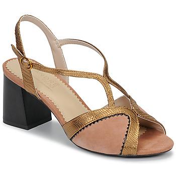 Schoenen Dames Sandalen / Open schoenen André LA MAGICIENNE Roze