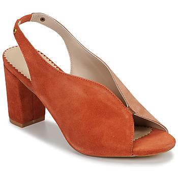 Schoenen Dames Sandalen / Open schoenen André L ILLUSIONISTE Roze