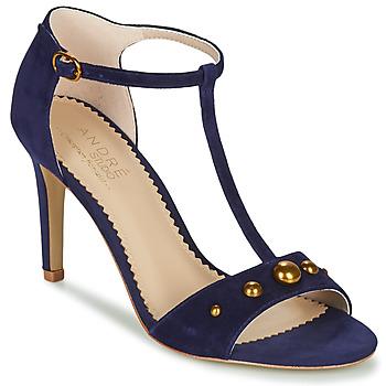 Schoenen Dames Sandalen / Open schoenen André LA DOMPTEUSE Blauw