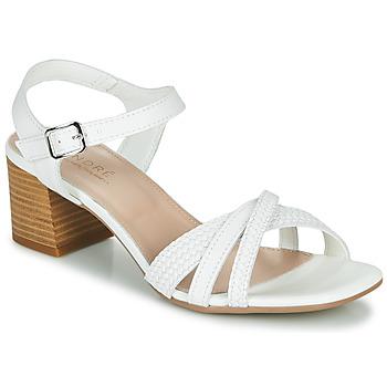 Schoenen Dames Sandalen / Open schoenen André MARJOLAINE Wit