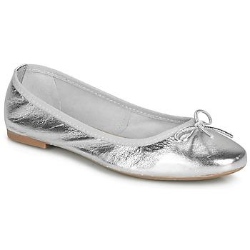 Schoenen Dames Ballerina's André PIETRA Zilver