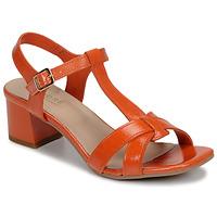 Schoenen Dames Sandalen / Open schoenen André JOSEPHINE Orange