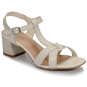 Schoenen Dames Sandalen / Open schoenen André JOSEPHINE Wit