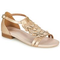 Schoenen Dames Sandalen / Open schoenen André BRIANA Goud