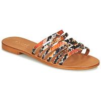 Schoenen Dames Sandalen / Open schoenen André BRAIDINE Orange
