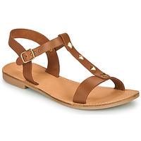 Schoenen Dames Sandalen / Open schoenen André DOMINOU  camel