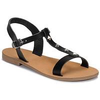 Schoenen Dames Sandalen / Open schoenen André DOMINOU Zwart