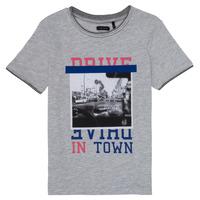 Textiel Meisjes T-shirts korte mouwen Ikks AMELIE Grijs / Chiné