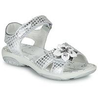Schoenen Meisjes Sandalen / Open schoenen Primigi  Zilver