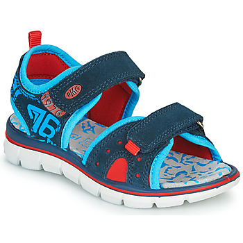 Schoenen Jongens Sandalen / Open schoenen Primigi  Marine / Blauw / Rood