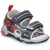 Schoenen Jongens Sandalen / Open schoenen Primigi  Marine / Rood