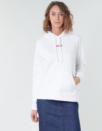 Textiel Dames Sweaters / Sweatshirts Levi's RAPHIC SPORT HOODIE BABY TAB HOODIE Wit