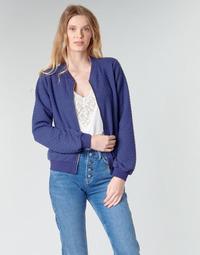 Textiel Dames Sweaters / Sweatshirts Moony Mood CHUCKY Blauw