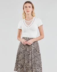 Textiel Dames Tops / Blousjes Moony Mood DURINO Wit