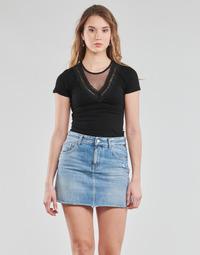 Textiel Dames Tops / Blousjes Moony Mood DALINA Zwart