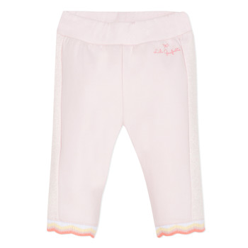 Textiel Meisjes 5 zakken broeken Lili Gaufrette NOLIS Roze