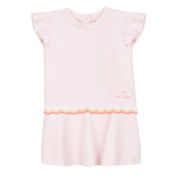Textiel Meisjes Korte jurken Lili Gaufrette NARITTE Roze