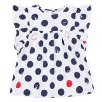Textiel Meisjes Tops / Blousjes Lili Gaufrette COLINE Wit