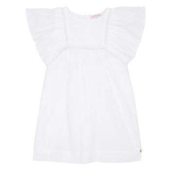 Textiel Meisjes Korte jurken Lili Gaufrette MELINA Wit