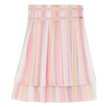 Textiel Meisjes Rokken Lili Gaufrette MIREILLE Multicolour