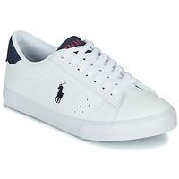 Schoenen Kinderen Lage sneakers Polo Ralph Lauren THERON Wit