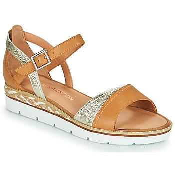 Schoenen Dames Sandalen / Open schoenen Karston KILGUM Brown / Zilver