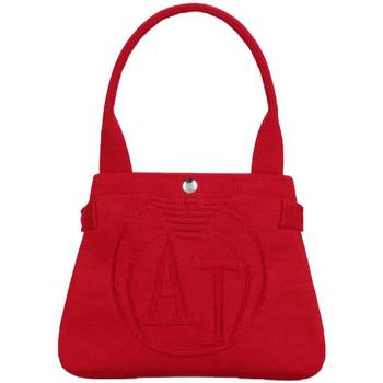 Tassen Dames Handtassen lang hengsel Armani Jeans Bags Sac Armani Jeans Rood