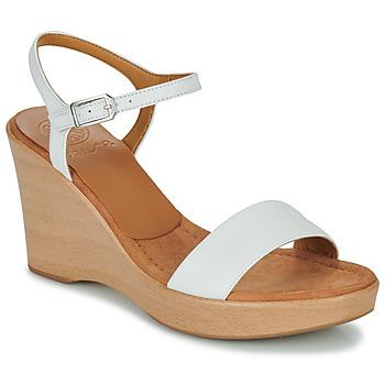 Schoenen Dames Sandalen / Open schoenen Unisa RITA Wit