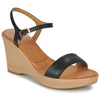 Schoenen Dames Sandalen / Open schoenen Unisa RITA Zwart