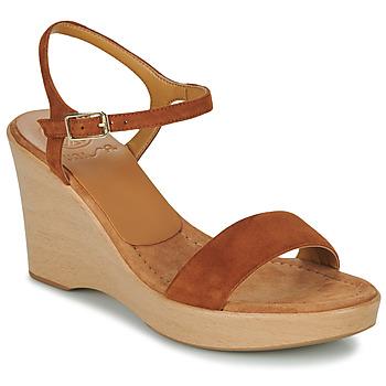 Schoenen Dames Sandalen / Open schoenen Unisa RITA Brown