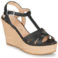 Schoenen Dames Sandalen / Open schoenen Unisa MACA Zwart