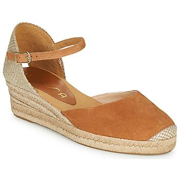 Schoenen Dames Sandalen / Open schoenen Unisa CISCA  camel