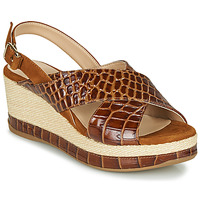 Schoenen Dames Sandalen / Open schoenen Unisa KASTRO  camel