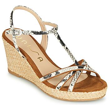 Schoenen Dames Sandalen / Open schoenen Unisa LLINAR Python
