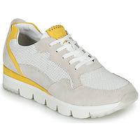 Schoenen Dames Lage sneakers Marco Tozzi 2-23754 Wit / Geel