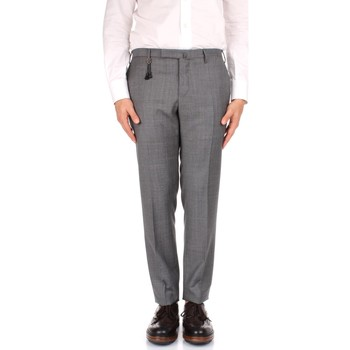 Textiel Heren Chino's Incotex 1AT030 1010T Grey