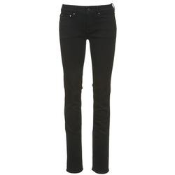 Textiel Dames Straight jeans G-Star Raw ATTACC MID STRAIGHT Zwart