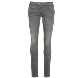 Textiel Dames Skinny Jeans G-Star Raw LYNN ZIP MID SKINNY Blauw