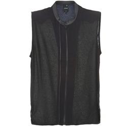 Textiel Dames Tops / Blousjes G-Star Raw 5620 CUSTOM Zwart