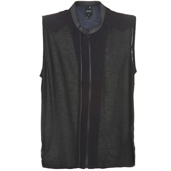 Textiel Dames Tops / Blousjes G-Star Raw 5620 CUSTOM Zwart